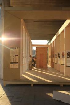 ARCHIWOOD-Ausstellung in Moskau.Alle Fotos Nussmüller und Boiger.