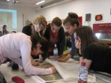 Baugruppe bei der Arbeit (alle Fotos: Karin Wallmüller)
