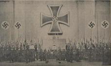 "Totengedenkfeier am 4. November 1940. Foto: Kristan, Tagespost 1940"""
