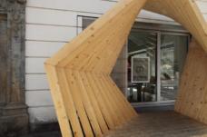 Pavillon: The Framed Pavilion, 2012, Sabine Lehner; Master Design Studio, Institut für Architektur und Medien Fakultät für Architektur, Technische Universität Graz. Alle Fotos: Zita Oberwalder