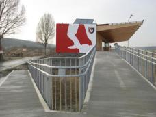 Sportgebäude. Foto: Feyferlik/Fritzer