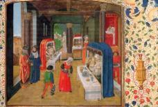 Badekultur im späten Mittelalter