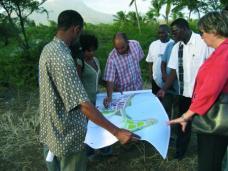 Cabo Verde: Arbeiten mit lokalen Planer/innen. Foto: Fiedler