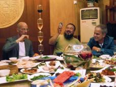 Jaques Herzog, Ali Weiwei und Pierre de Meuron