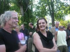 Reinfried und Irmi Horn, Stadtrat Gerhard Rüsch im Hintergrund