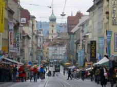 Am 22. September 2008 war die gesamte Annenstraße autofrei. Foto: Wieser