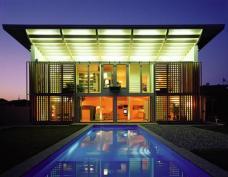 """Das wohl bekannteste Beispiel einer Kooperation zwischen GriffnerHaus und einem Architekten: """"O sole mio"""". Entwickelt und geplant von GriffnerHaus in Zusammenarbeit mit Matteo Thun. Foto: GriffnerHaus"""