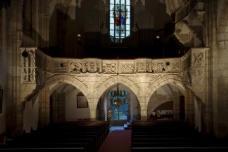 Empore der Oswaldikirche, Foto: Martin Grabner