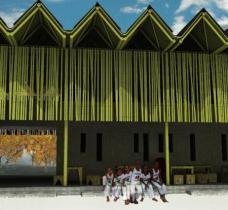 Gregor Fasching, Vienna University of Technology (Austria) Projekt: A school for Anajô - Escola Anajô. Integrales, nachhaltiges Konzept für die Konstruktion eines zweistöckigen Schulgebäudes aus Erde und Bambus für die NGO Fundação Anajô. Diese betreut eine Gruppe von ungefähr 100 Straßenkindern in der Stadt Guarabira, Paraíba State, im Nordosten von Brasilien. Der Fokus dieses Designs liegt auf der Durchführbarkeit und Lebensfähigkeit eines sozialen Projekts, sowohl aus soziokultureller wie aus ökologisch-wirtschaftlicher Perspektive. © Gregor Fasching