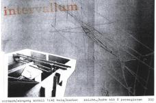 "e. d. gfrerer ""intervallum"" / Eröffnung: 27.05.2009, 19.00 Uhr / Dauer: bis 17.06. 2009 / Galerie remixx, Graz"