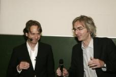 Anselm Wagner (li) mit Dekan Urs Hirschberg. Foto: Gerhard Moderitz