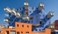 Das Haus mit Veranden in Wien von Architekt Rüdiger Lainer. (Foto: Hubert Dimko)