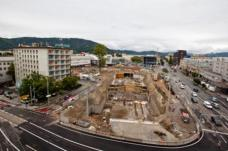 Baustelle Hauptbahnhof Graz
