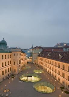 Das Herz des neuen Joanneumsviertel. (Foto: N. Lackner / UMJ)