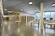 Freihandbereich der Steiermärkischen Landesbibliothek im Besucherzentrum. (Foto: N. Lackner / UMJ)