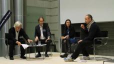 Anselm Wagner im Gespräch mit Arie Graafland, Maria S. Guidici und Andreas Rumpfhuber.