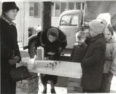 Modell Hafnerriegel (18.01.1961)