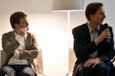 Martin Luce (Arch+), Tore Dobberstein (complizen Planungsbüro Berlin)