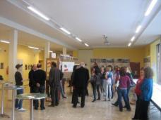 """Ausstellungseröffnung """"gemeinsam bauen"""" im Festsaal der AHS Bruck/Mur"""