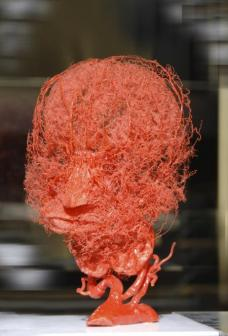 Idealform des menschlichen Kopfes: 3 Seite Gesichter