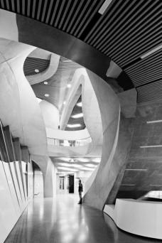 ANERKENNUNG: UN Studio, Amsterdam für das MUMUTH – Haus für Musik und Musiktheater, Graz. Foto: Hertha Hurnaus