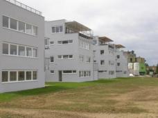 """Wohnanlage """"Patio Waltendorf"""" vor der Fertigstellung im Juni 2008"""