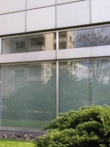 Gürtelturm; Fassadendetail. Foto: el