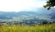 Zersiedelung in der Steiermark, Bezirk Hartberg, Foto: E.mil