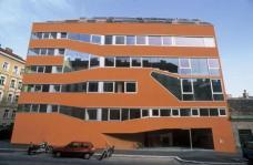 Wohnanlage Miss Sargfabrik, Straßenfassade, Planung: BKK-3 ZT GmbH. Foto: © Herta Hurnaus