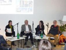 Nicht nur GEMEINSAM SCHÖN sind Christiane Feuerstein, Otto Neumeier, Marie-Therese Harnoncourt und Jan Tabor (v. li). Foto: wm