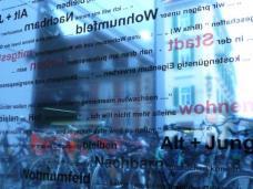 Ausstellung  gemeinsam bauen. WOHNBAU:ALTERNATIVE:BAUGRUPPEN im HDA Graz, 23.09.2009 - 08.10.2009