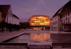 3. Rang: Fandler Architektur, Graz. Blick vom Karmeliterplatz.