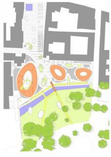 3. Rang: Fandler Architektur, Graz. Lageplan