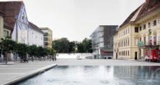 2. Rang: GS architekts, Graz. Blick vom Karmeliterplatz
