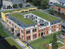 Geglückte Verschmelzung von Industriearchitektur mit modernem Wohnen