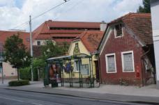 Diese Grazer Vorstadthäuser sind lt. Bebauungsplan nicht schützenswert und sollen abgerissen werden.
