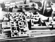 Candilis, Josic, Woods, Wettbewerb Frankfurt-Römerberg, 1963