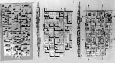 Abb. 5: Candilis, Josic, Woods, Wettbewerb FU Berlin, Konzept, 1963