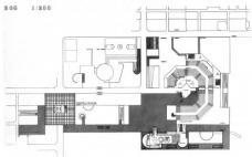 Abb. 9: Hafner, Projekt Uni Salzburg, Grundriß OG2