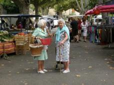 Abb. 16: Markt in Bargemon