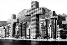 MVRDV: Verdichtung von Benidorm, Costa Iberica, Projekt 1998