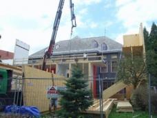 Baustelle August 2009: Schauhaus 09 - Festivalzentrum steirischer herbst 2009 im Orpheum. Planung: Architekturbüro MVD Austria | frank, rieper