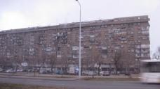 elendslange Wohnzeile in Novi Beograd