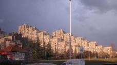 Wohnblocks in Novi Beograd