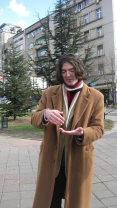Miodrag, der Architekt als Guide. Fotos: Karin Tschavgova