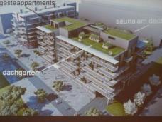 """""""Wohnen mit uns! -Wohnprojekt Wien"""" am Nordbahnhof in der Leopoldstadt. Die Projektkoordination hat """"Gemeinsam-Bauen-Wohnen"""" übernommen, die Architektur stammt von einszueins architekten."""