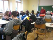 Prof.Battyan und die Workshop-TeilnehmerInnen