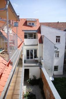 Preisträger in der Kategorie SANIERUNG: Wohnanlage Griesgasse 18, Graz. Planung: Arch. DI Günther Burgstaller und Arch. DI Werner Paier, Graz