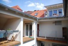 Wohnanlage Griesgasse 18, Graz. Planung: Arch. DI Günther Burgstaller und Arch. DI Werner Paier, Graz