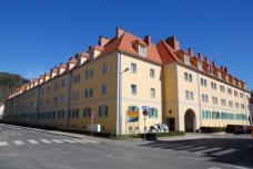 In der Kategorie SANIERUNG: Wohnanlage Hahnhof, Bruck / Mur. Planung: Arch. DI Meinhard Neugebauer, Bruck / Mur